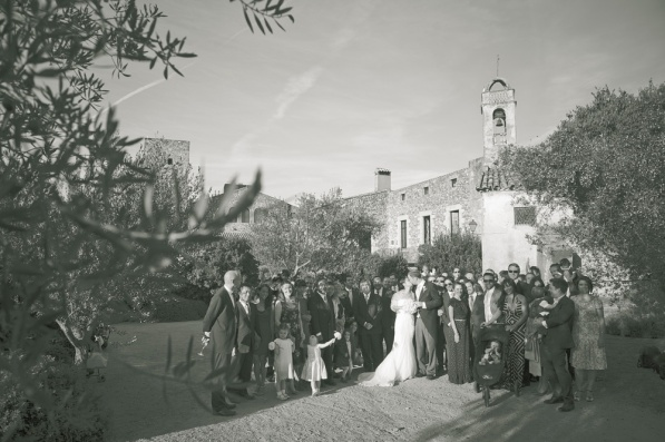 A Wedding at the Castell d'Emporda, Girona, Spain by Wedding Photographer Sandra von Riekhoff for Divine Day Photography