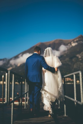 A Wedding at Castello Balbianello on Lake Como in Italy